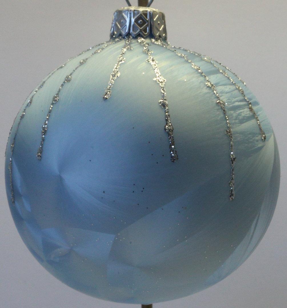 Hellblaue weihnachtskugeln aus glas polnische produkte - Weihnachtskugeln aus glas ...