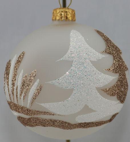 Schwarz Weiße Christbaumkugeln.Weihnachtskugeln Christbaumkugeln Aus Glas Online Kaufen